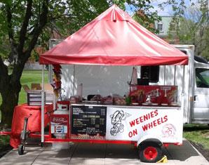 Weenies on Wheels